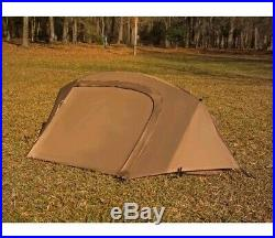 Catoma Military Camping Shelter Tent EBNS Poles Stakes Rainfly Coyote Brown USMC