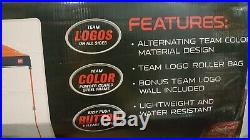 Chicago Bears NFL Team 10' x 10' Dome Canopy Tent w Wall Tailgate ez up Rawlings