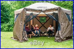 Clam 9882 Quick-Set Pop Up Pavilion Gazebo Canopy Shelter Screen