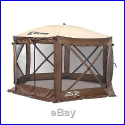 Clam Corporation 9882 Quick-Set Pavilion 150 x 150-Inch Brown/Beige New