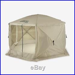 Clam Quick Set Escape Portable Canopy Shelter + Wind & Sun Panels (3 pack)