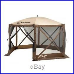 Clam Quick Set Escape Portable Outdoor Gazebo Canopy with Wind Panels (6 Pack)