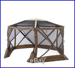 Clam Quick Set Escape Sky Screen Portable Camping Outdoor Gazebo Shelter OpenBox