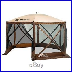 Clam Quick Set Escape XL Portable Camping Outdoor Gazebo Canopy Shelter Screen