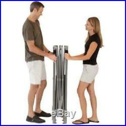 Coleman 10'x10' Straight Leg Instant Canopy/Gazebo 100 sq. Ft CoverageHeavy-Duty