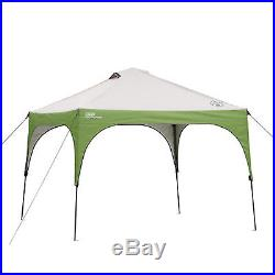 Coleman 10' x 10' Instant Beach Shelter Canopy Camping Tailgating Tents Sports