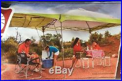 Coleman 10 x 10 Instant Canopy withSwing Wall that Adds Extra 60 sq. Ft of Shade