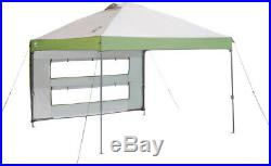 Coleman 10 x 10 Instant Canopy with Swing Wall