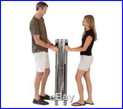 Coleman 10' x 10' Straight Leg Instant Canopy/Gazebo (100 sq. Ft Coverage) New
