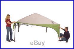 Coleman 10' x 10' Straight-Leg Shelter Lightweight Outdoor Canopy Gazebo New
