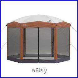 Coleman 12 x10 ft Hex Instant Screened Canopy/Gazebo