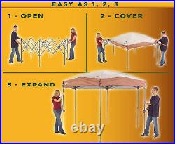 Coleman 12 x 10 Back Home Instant Setup Canopy Sun Shelter Screen House, 1