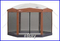 Coleman 12 x 10 Hex Instant Screened Shelter, Free Shipping, New