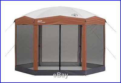 Coleman 12 x 10 Hex Instant Screened Shelter New