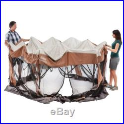 Coleman 12 x 10 Instant Screened Canopy By Coleman