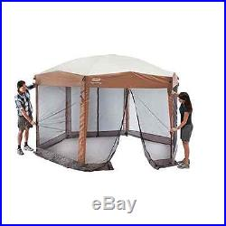 Coleman 12 x 10 Instant Screened Canopy New FREE SHIPPING