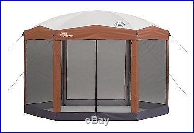Coleman 12' x 10' Instant Shelter W/ Screen Walls Tent Camping Outdoor Canopy