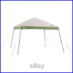 Coleman 12' x 12' Camping Tailgating Backyard Wide Base Instant Canopy Shelter