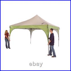 Coleman 12 x 12 Canopy Sun Shelter Tent with Instant Setup