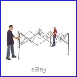Coleman 12' x 12' Straight Leg Instant Canopy Gazebo 144 Sq ft Coverage Outdoor