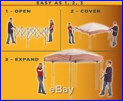 Coleman 12x10 Instant Screened Canopy Gazebo Patio Deck Furniture Outdoor Picnic