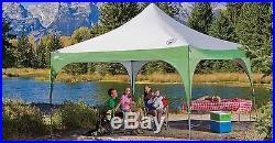 Coleman 12x12 Straight leg instant shade canopy Sun Shelter