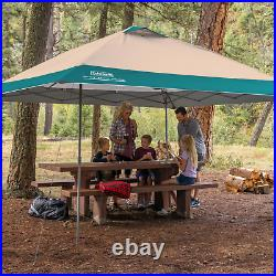Coleman 13x13 Instant Eaved Shelter Canopy with wheeled carry bag