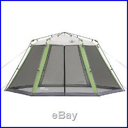 Coleman 15' x 13' Straight Leg Instant Screened Shelter (195 sq. Ft Coverage)