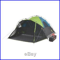 Coleman 6-Person Darkroom Fast Pitch Dome Tent withScreen Room 2000033190