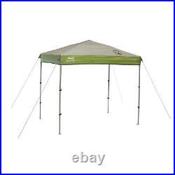 Coleman 7 X 5 Ft. Lightweight 2-Way Roof Vents Instant Beach Camp Canopy, Green