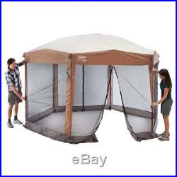 Coleman Back Home 12x10' Instant Screen House Hexagon Canopy 2000028003 (Used)