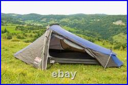 Coleman Cobra 3 Person Lightweight Tent in Blue Garden Camping Outdoors Hiking
