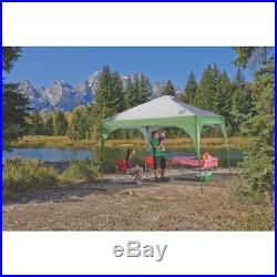 Coleman Instant Beach Canopy 10 x 10 Feet UV Guard 2 Way Roof Vents Carry Bag