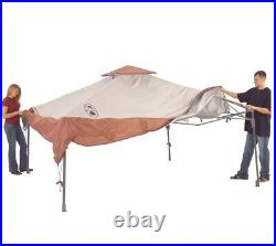 Coleman Instant Beach Canopy, 13 x 13 ft 100% Polyester Brand New