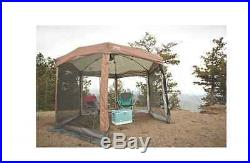 Coleman Instant Canopy 12 x 10 Instant Screened Camping Hiking Park Ball Games