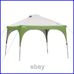 Coleman Instant Canopy Sun Shade Tent, 10' X 10' Distressed Pkg