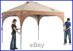 Coleman Instant Canopy with LED Lighting System Brown One Size New
