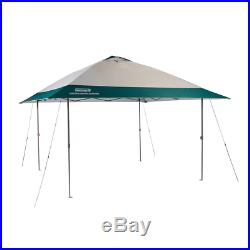 Coleman Instant Eaved Shelter Easy Setup 50+ UPF Protection UV Guard 13x13 New