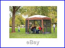 Coleman Instant Screened 12 x10 Tent Canopy/Gazebo Outdoor Shelter Portable New