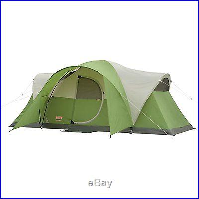 Coleman Montana 8 Person Cabin Tent WeatherTec System New
