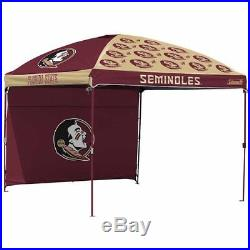 Coleman NCAA 10' x 10' Dome Canopy with Wall NO TAX Florida State Seminoles