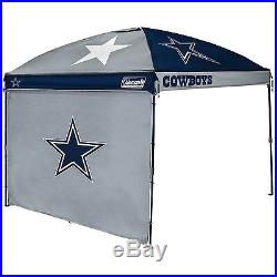 Coleman NFL 10' x 10' Dome Canopy with Wall Dallas Cowboys