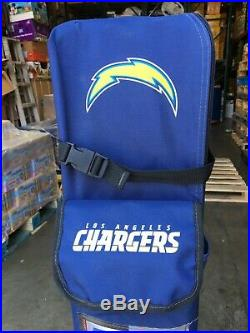 Coleman NFL Los Angeles LA Chargers 10' x 10' Deluxe Dome Canopy with Wall
