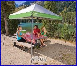 Coleman Portable 10 x 10 Slant-Leg Instant Shelter Beach Sun Protect Shade