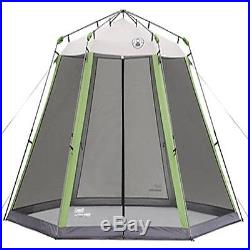 Coleman Screen Tent Sun Cover Camping Houses Rooms 15 X 13 Instant Screened