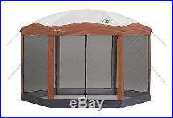 Coleman Screened Canopy 12x10 instant shelter outdoor camping beach gazebo yard