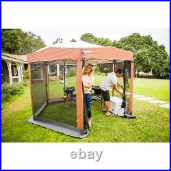 Coleman Screened Canopy Sun Shade 12x10 Tent Instant Setup Backyard Shelter NEW