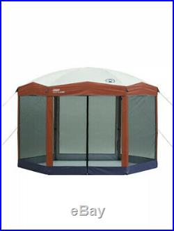 Coleman Screened Canopy Sun Shade 12x10 Tent With Instant Setup