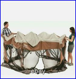 Coleman Screened Canopy Sun Shade 12x10 Tent With Instant Setup Pop Up Screen