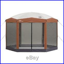 Coleman Screened Canopy Sun Shade 12x10 Tent with Instant Setup Brand New